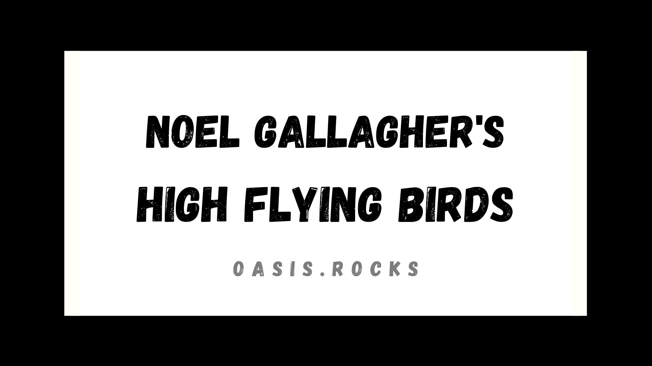 Nach dem Oasis-Aus gründete Noel Gallagher seine eigene Band namens Noel Gallagher's High Flying Birds.