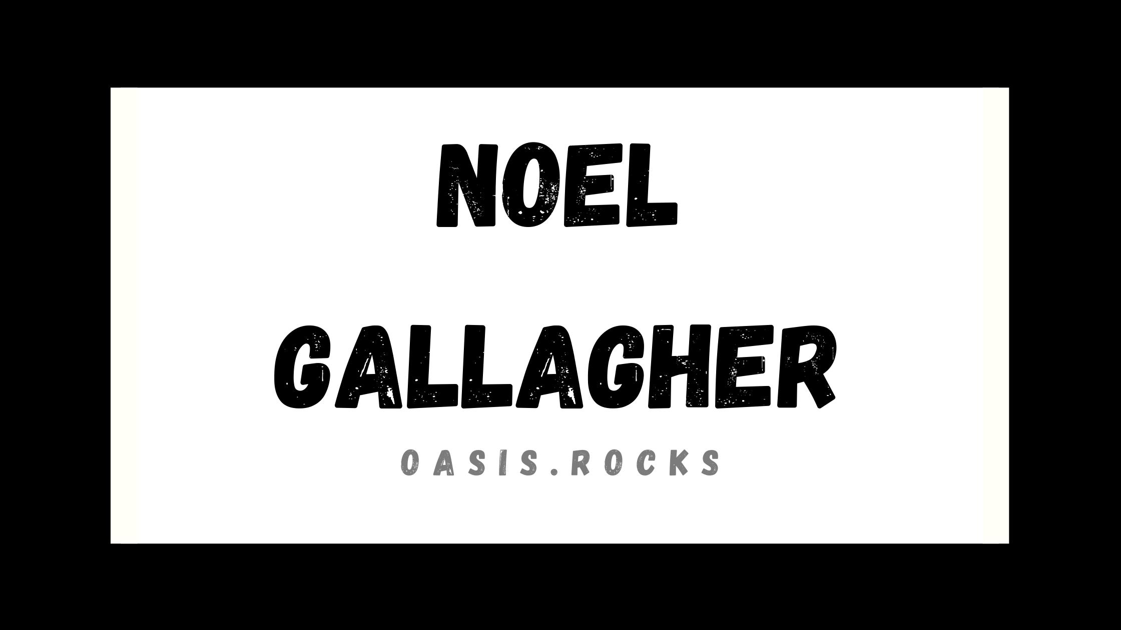 Noel Gallagher war der Kopf hinter Oasis, somit auch ein Gründungsmitglied. Mittlerweile tritt er erfolgreich mit Noel Gallagher's High Flying Birds auf.