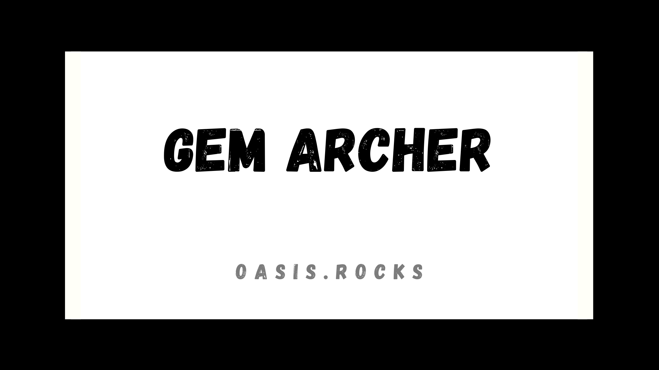 Gem Archer war ein Band-Mitglied von Oasis.